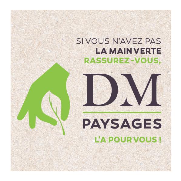 Logo Dm Paysages et Associes