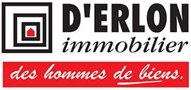 Logo D'Erlon Immobilier