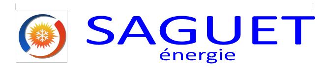 Logo Saguet Energie