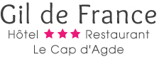Logo Hotel Cap d'Agde - Gil de France