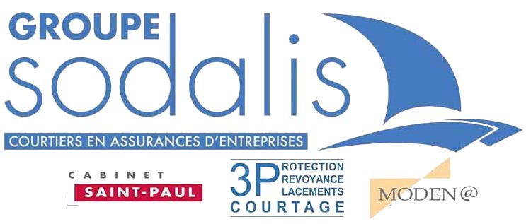 Logo Sodalis Iard, Sodalis Collectivites, Modena, 3P Courtage, Cabinet-Saint-Paul-Assurances Cspa