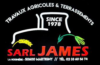 Logo SARL James