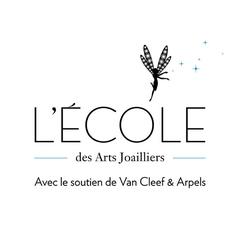 Logo L'Ecole des Arts Joailliers Avec le Soutien de Van Cleef & Arpels