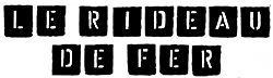 Logo Le Rideau de Fer