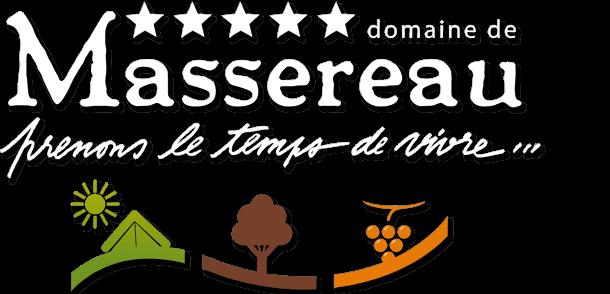 Logo Camping du Domaine de Massereau et Hotel les Pres du Roi