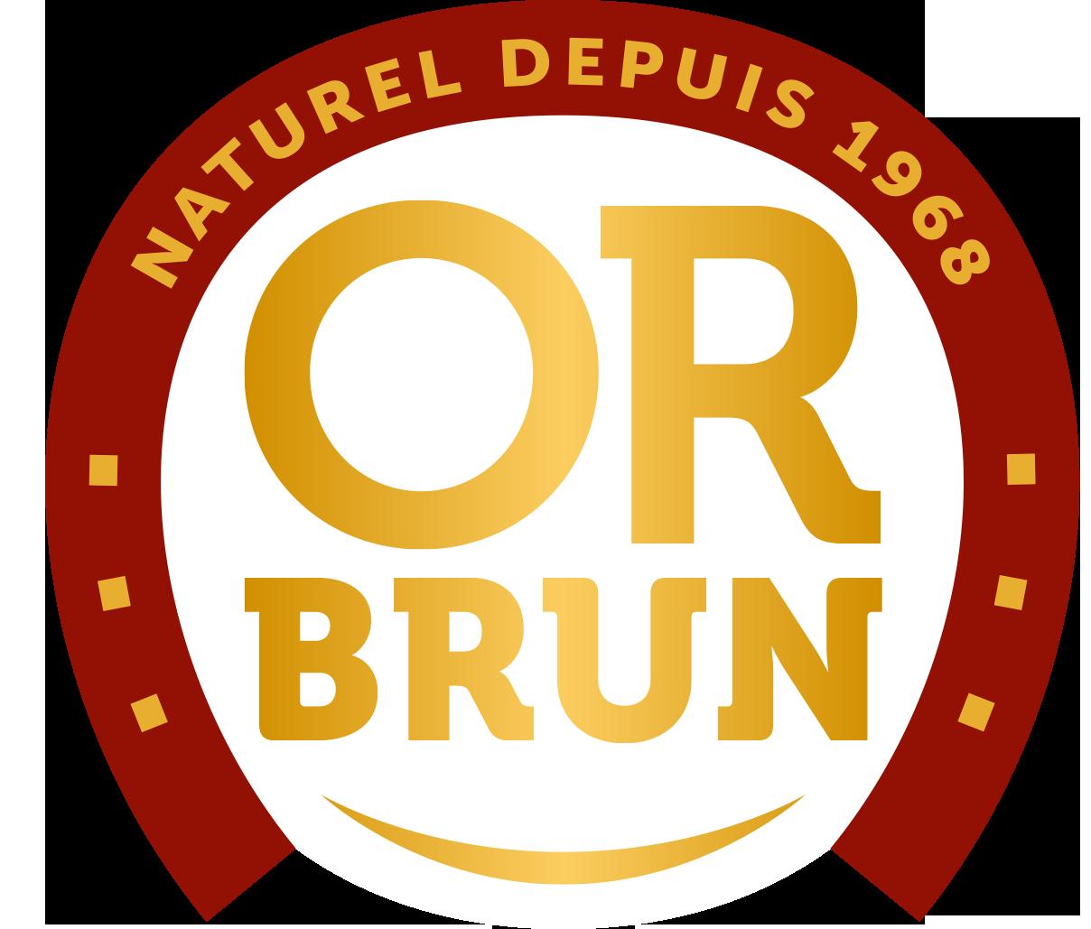 Logo Usine Or Brun
