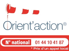 Logo Orient'Action Angers