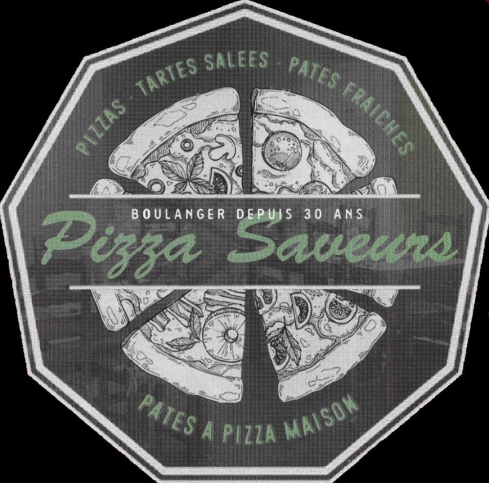 Logo Pizza Saveurs