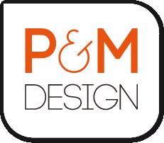 Logo P&M Design