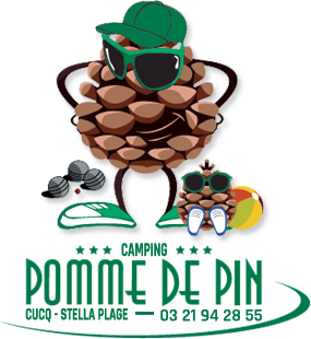 Logo Camping Pomme de Pin