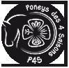 Logo Poneys des Quatre Saisons