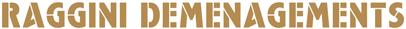 Logo Demenagements Raggini - Garde-Meubles Raggini