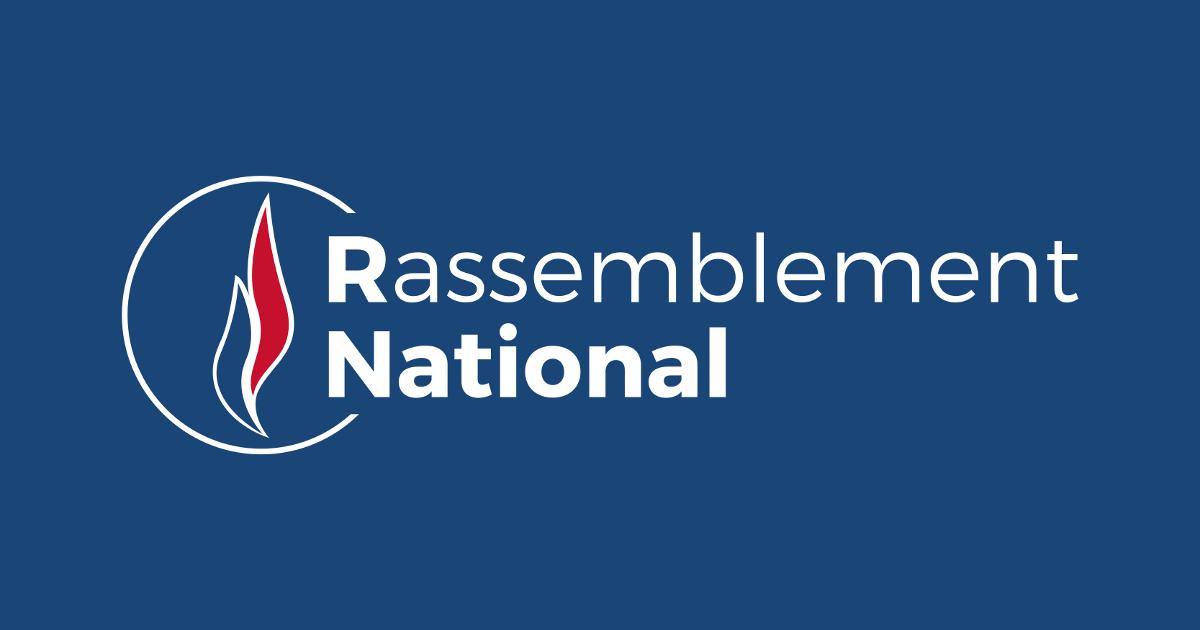Logo Rassemblement National