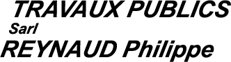 Logo Reynaud Philippe Travaux Publics
