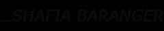 Logo Shafia Baranger