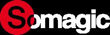 Logo Somagic Barbecues Somabike le Lezard Dore