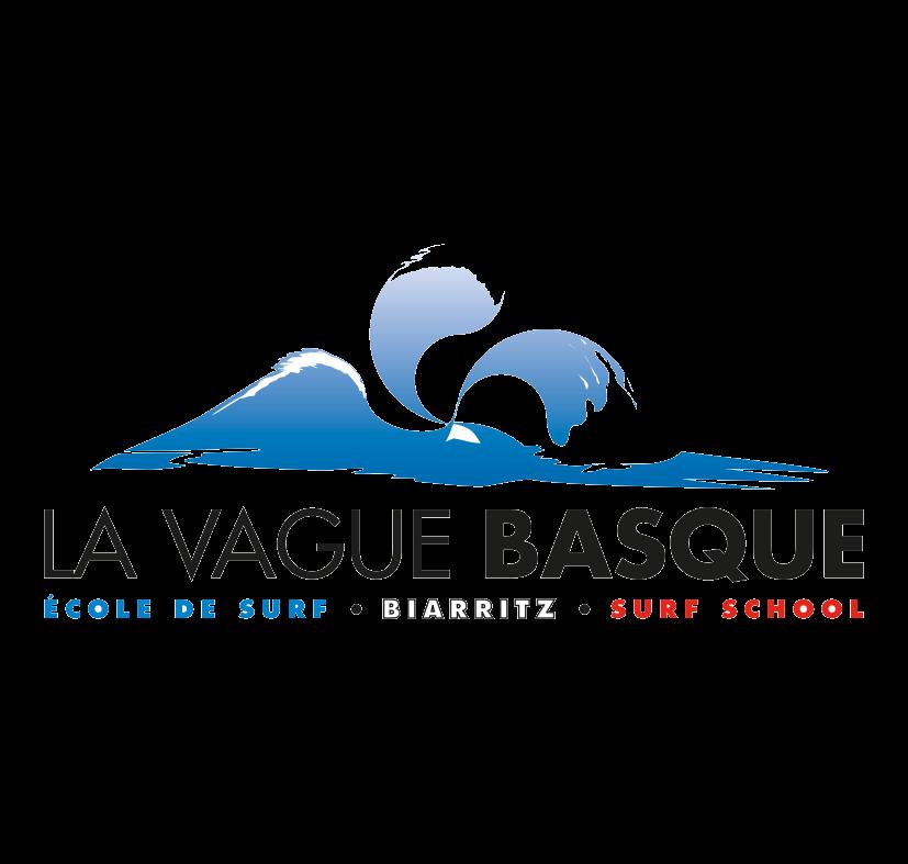 Logo Ecole de Surf la Vague Basque