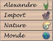 Logo Alexandre Import Nature Monde