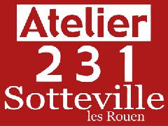 Logo Atelier 231 - Centre National des Arts de la Rue
