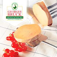 Logo Georges Bruck les Foies Gras de Strasbourg