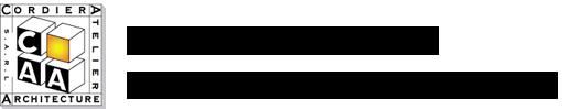 Logo Cordier Atelier d'Architecture