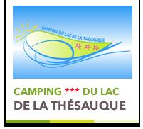 Logo Camping du Lac de la Thesauque