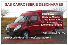 Logo Carrosserie Descharmes