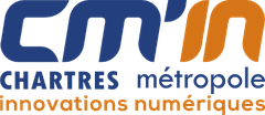 Logo Chartres Metropole Innovations Numeriques