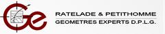 Logo Cabinet Ratelade Petithomme Geometres Ex