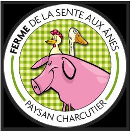 Logo Le Paysan Charcutier Ferme de la Sente aux Anes