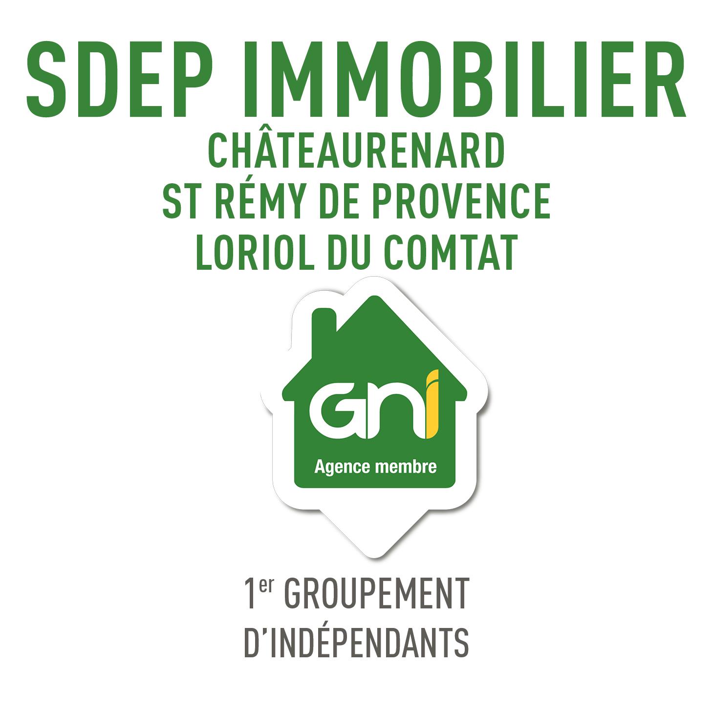 Logo Sdep Chateaurenard Immobilier
