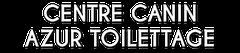 Logo Centre Canin Azur Toilettage