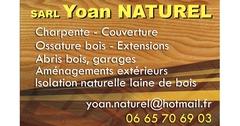 Logo SARL Yoan Naturel