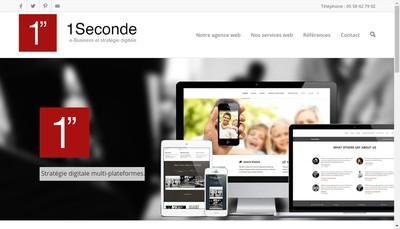 Site internet de 1Seconde