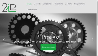 Site internet de 2I Process