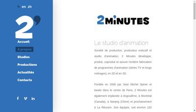 Site internet de 2 Minutes