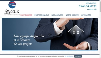 Site internet de 3 Assur