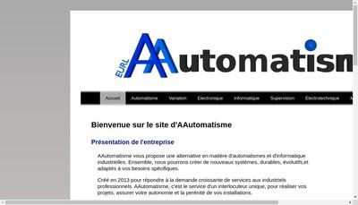 Site internet de Aautomatisme