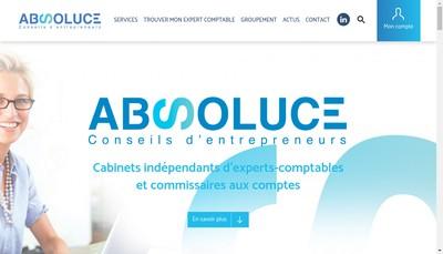 Site internet de Absoluce