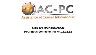 Site internet de Ac Pc