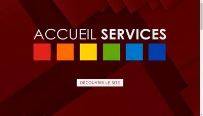 Site internet de Accueil Services