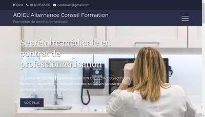 Site internet de Adiel-Acf-Alternance-Conseil-Formation