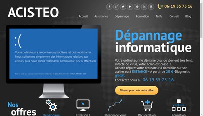 Site internet de Stephane Cabiron