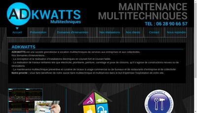 Site internet de Ad Kwatts