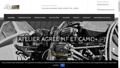 Site internet de Aero Mecanic'S
