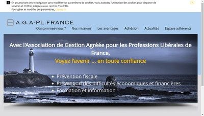 Site internet de Aga Pl France Asso Gest Agreee