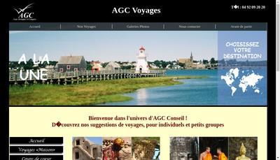 Site internet de Agc Conseil