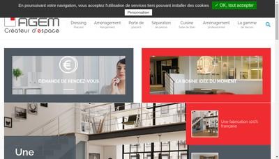 Site internet de Agem
