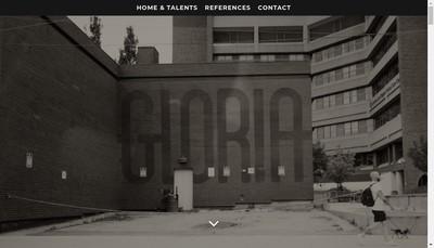 Site internet de Gloria