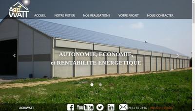 Site internet de Agriwatt